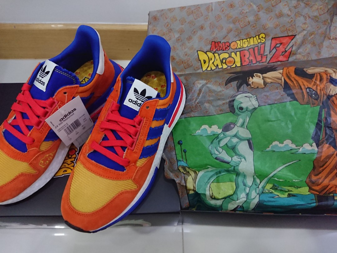 quality design 95cbb 45897 Dragonball Z x Adidas ZX 500 Goku, Mens Fashion, Footwear, Sneakers on  Carousell