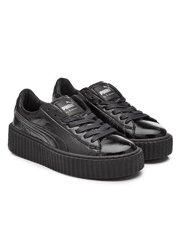 new product 0bab4 5fdb6 Fenty Puma by Rihanna Patent Leather Creeper Sneakers