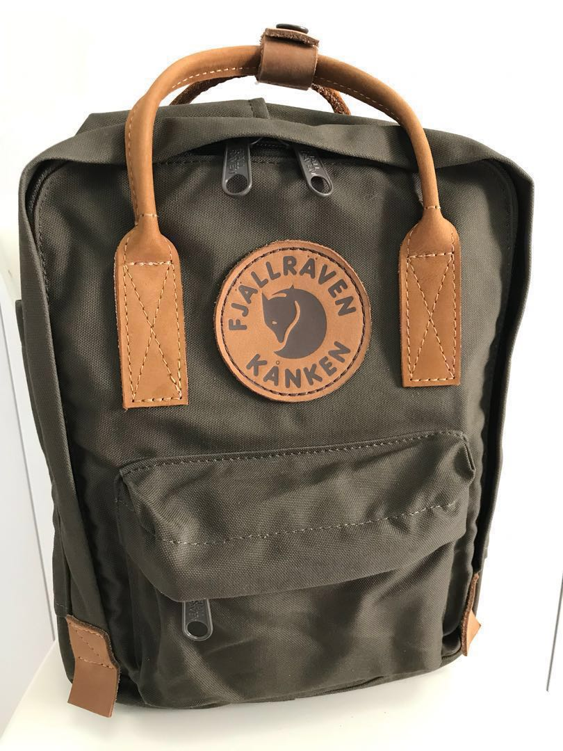 ce3af74bbf5 Fjallraven Kanken No.2 MINI - Dark Green