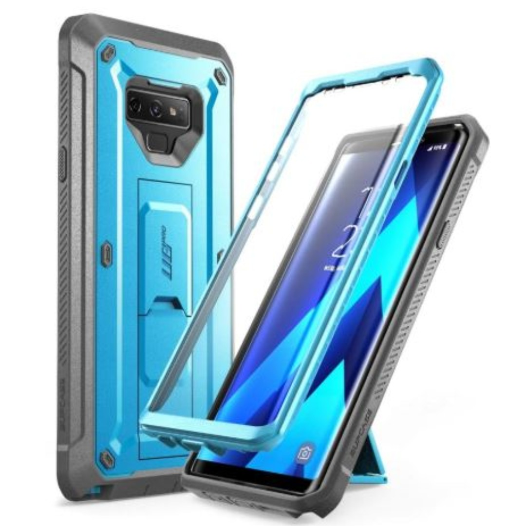 online store 1e1e5 84ca5 Galaxy Note9 Unicorn Beetle Pro Rugged Holster Case [BLUE]