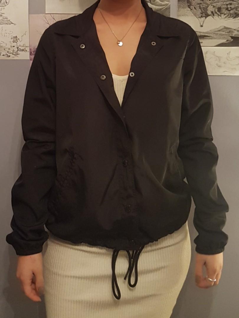 Garage windbreaker rain jacket