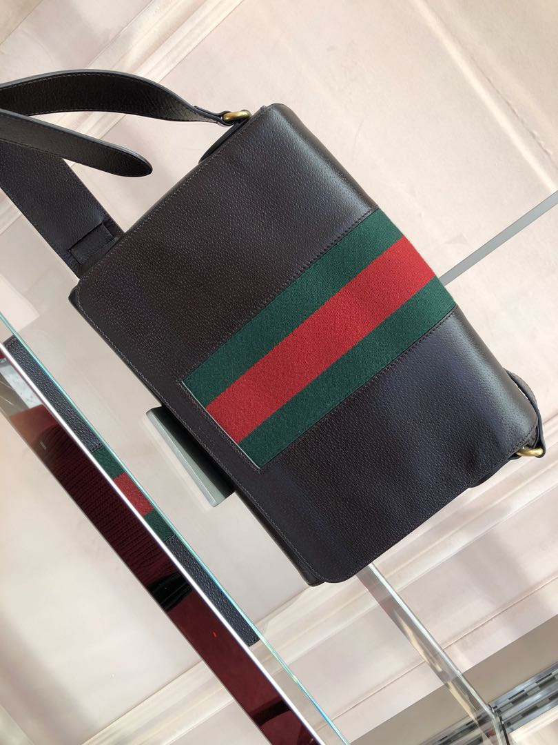 85152f65b Gucci outlet men's bag 50% off, Luxury, Bags & Wallets, Sling Bags ...
