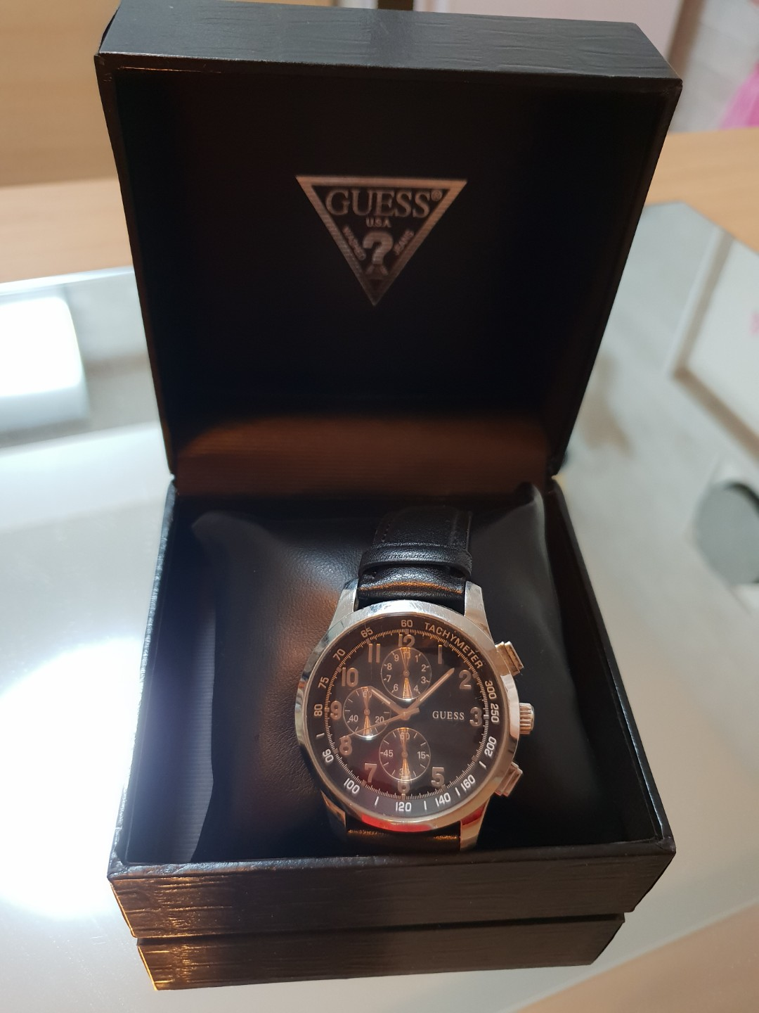 Guess Watch Mens Fashion Watches On Carousell Fossil Me3130