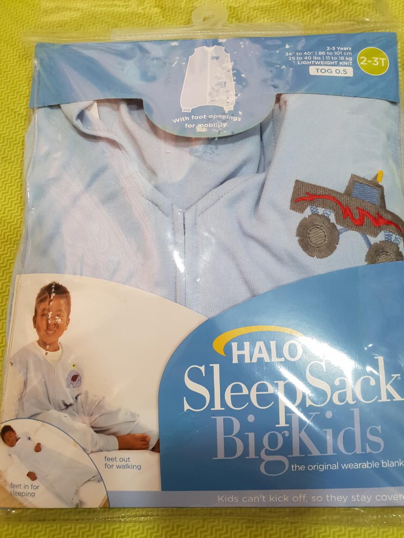 cb7f93556828 Halo Sleep Sack Big Kids (2-3T)