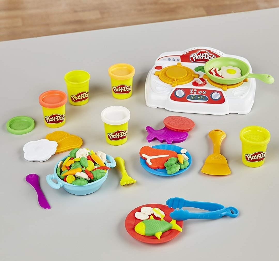 In Stock Bn Play Doh Kitchen Creations Sizzlin Stovetop