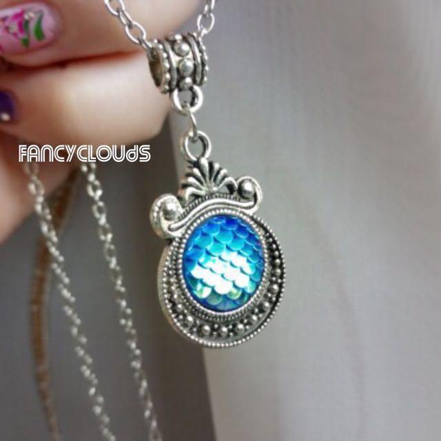 Irisdescent Necklace Birthday Present Gift For Her Girlfriend Gf