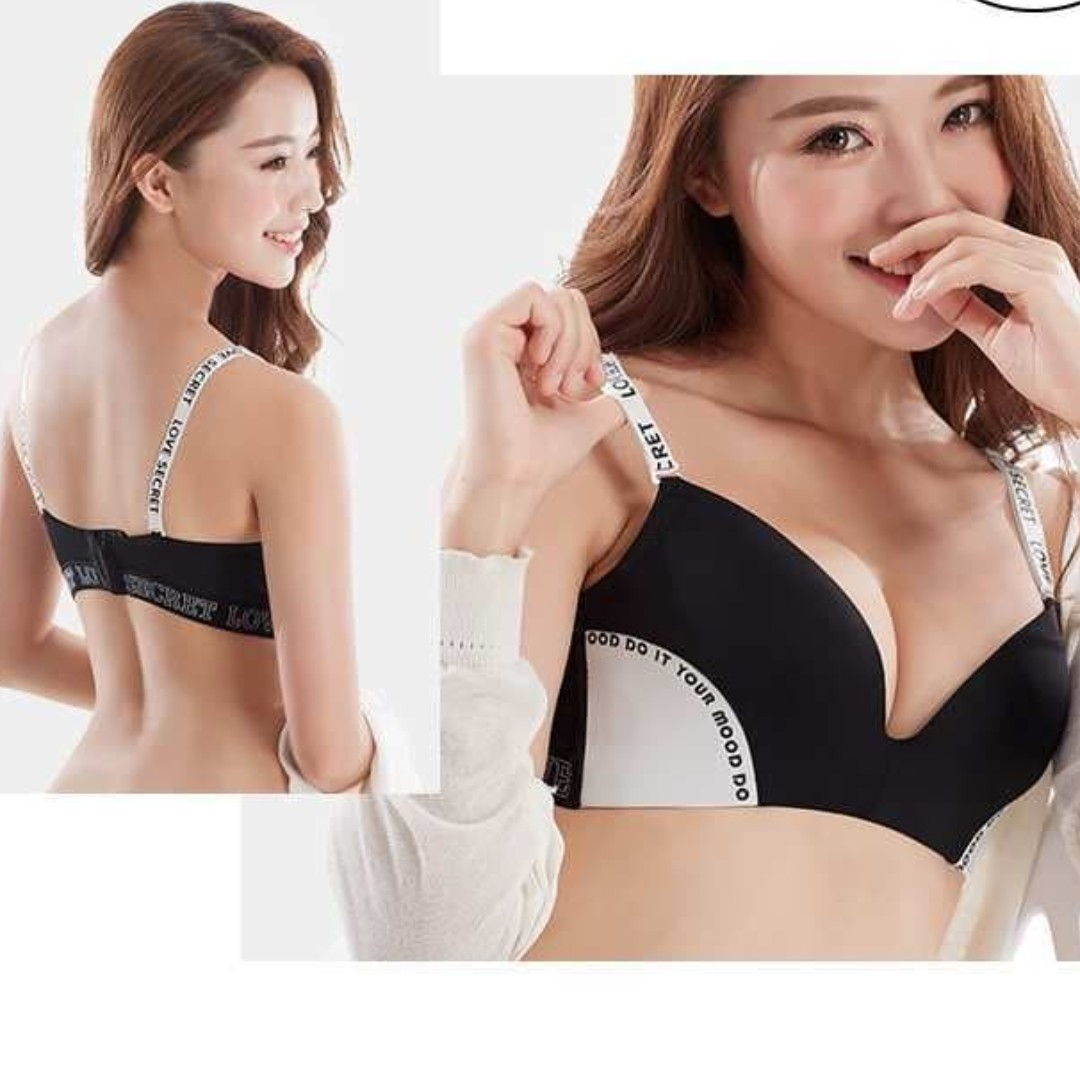 1fe0ee5d3c Korean concept non wired bra set