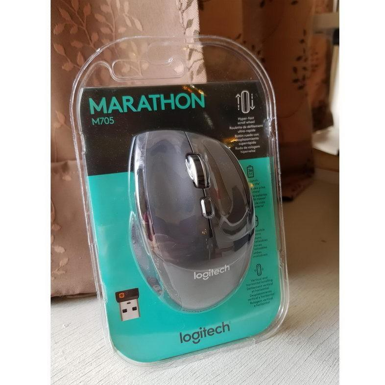 Logitech Wireless Marathon Mouse M705 3 Year Battery Life