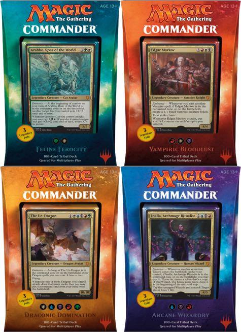 Alpha Games The Gathering Feline Ferocity Commander 2017 Magic