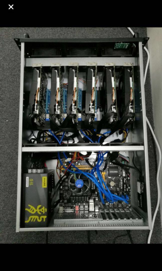 Mining Rig P106*6 (negotiable)