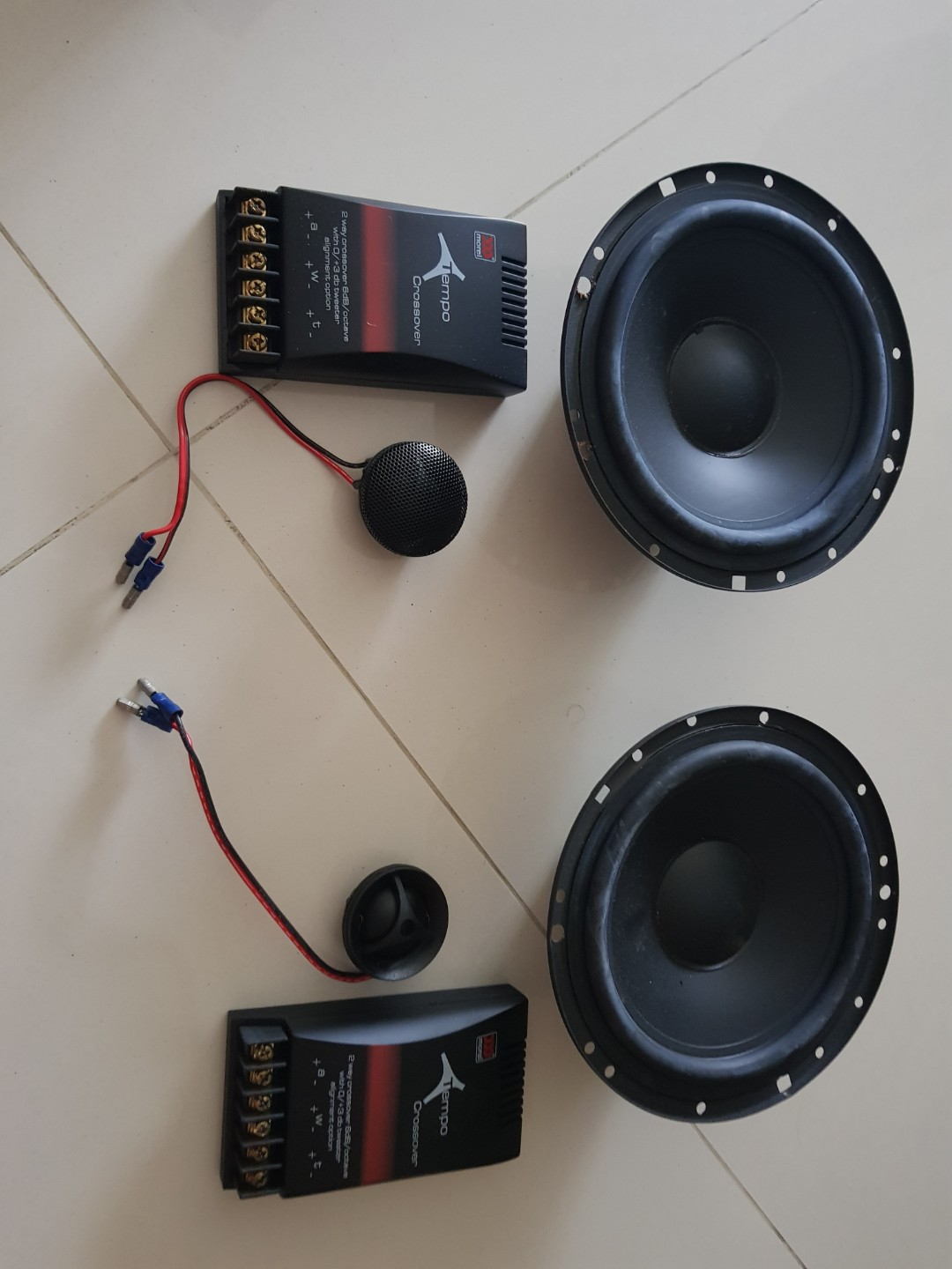 MOREL TEMPO TWO WAY 6 Car Speakers