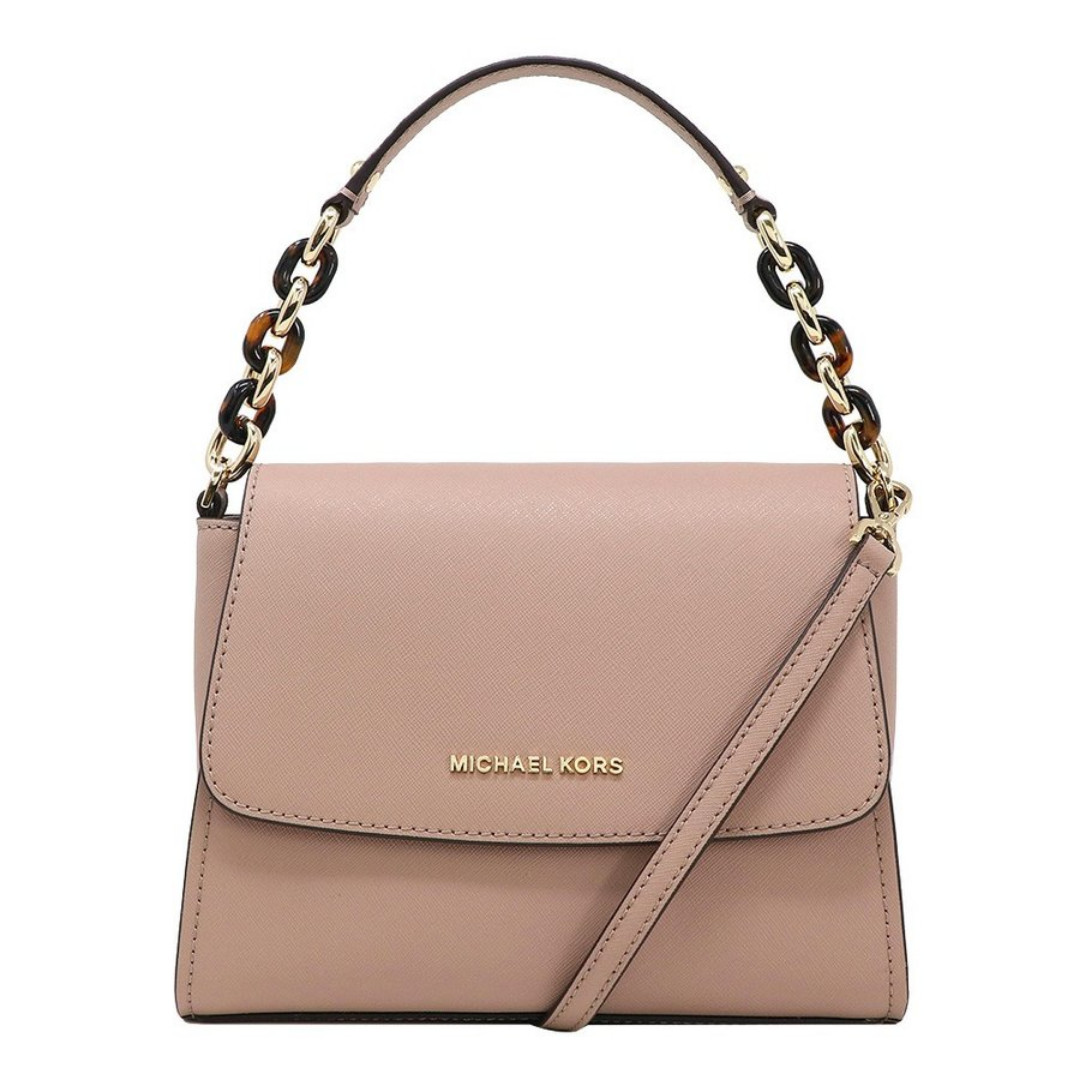 02be55299b786 NEW ARRIVAL Michael Kors Sofia Crossbody Bag Fawn