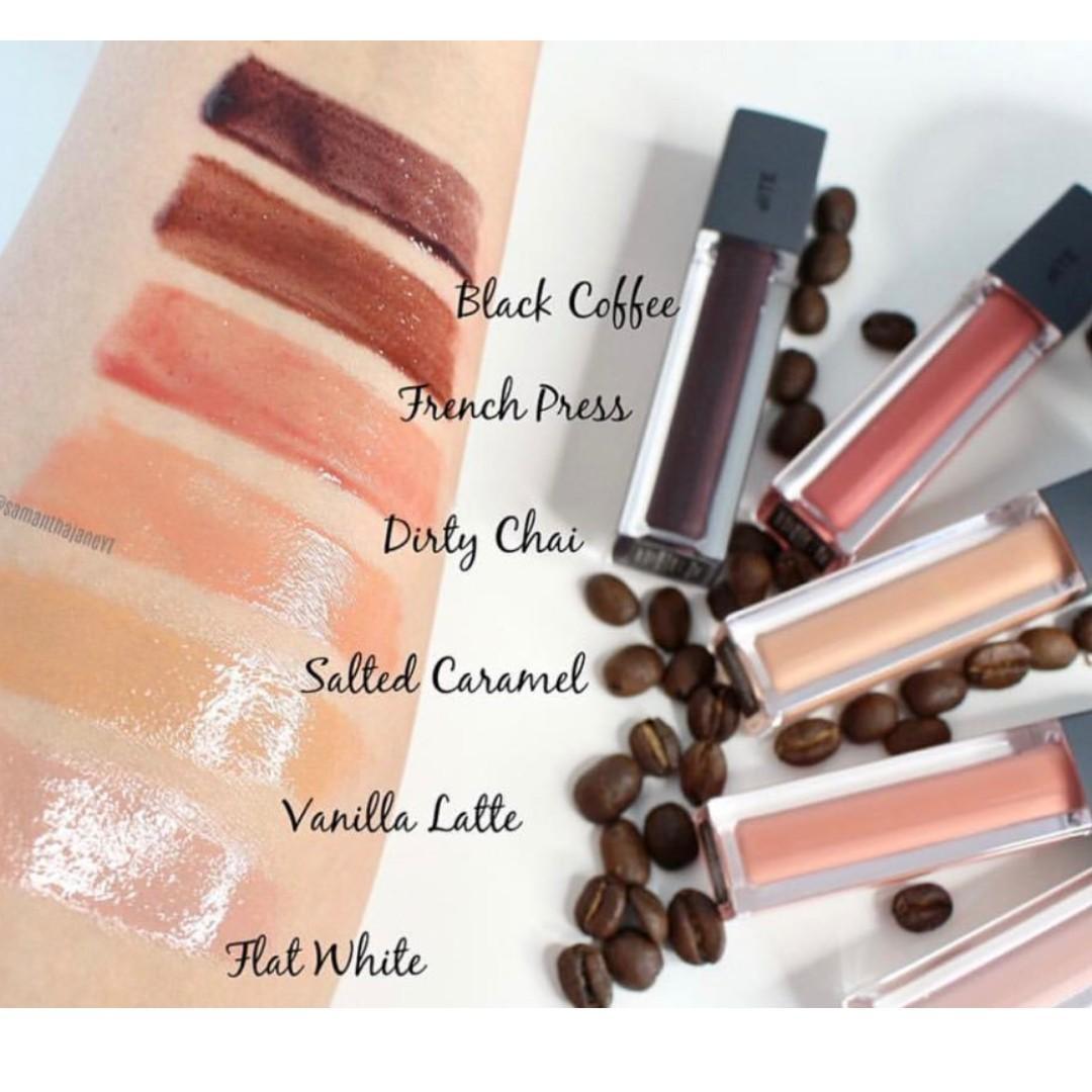 **PRICE DROP** New BITE BEAUTY French Press Lip Gloss Vanilla Latte