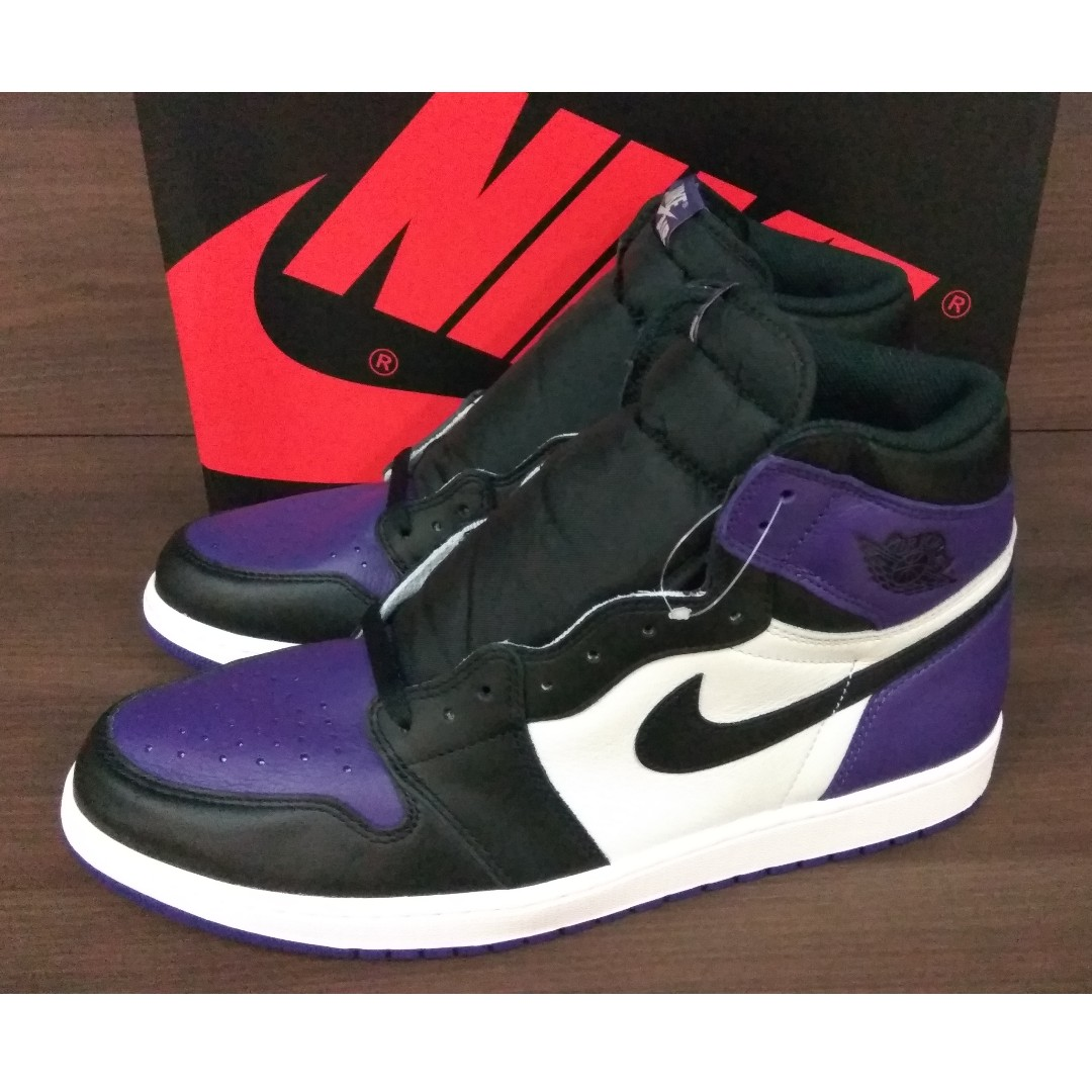 Nike Air Jordan 1 Retro High Court Purple f094de8fe6