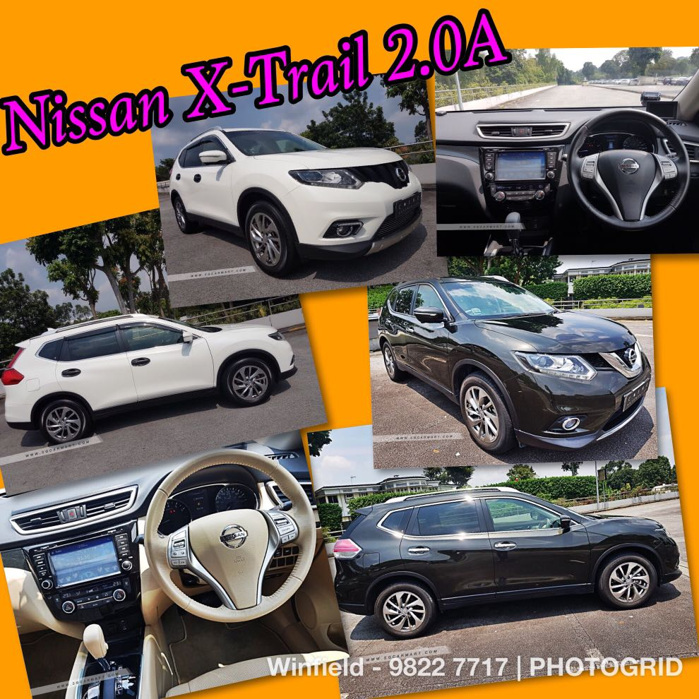nissan x trail 2 0a 9k driveaway 5k downpayment monthly 1200 rh sg carousell com