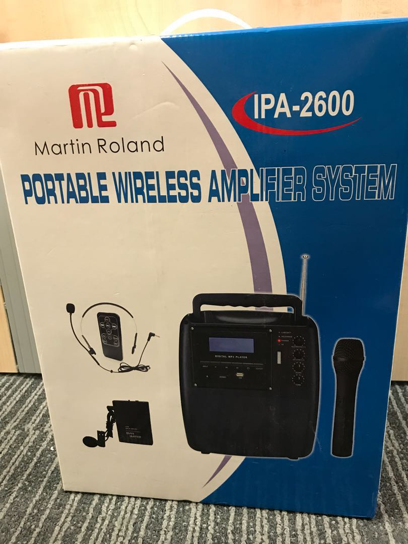 Portable Wireless Amplifier System, Electronics, Audio on