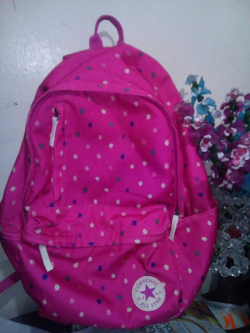 830fa908da1b Preloved original converse backpack