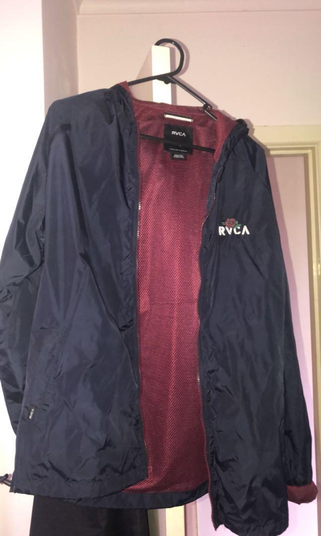 Rvca rain jacket