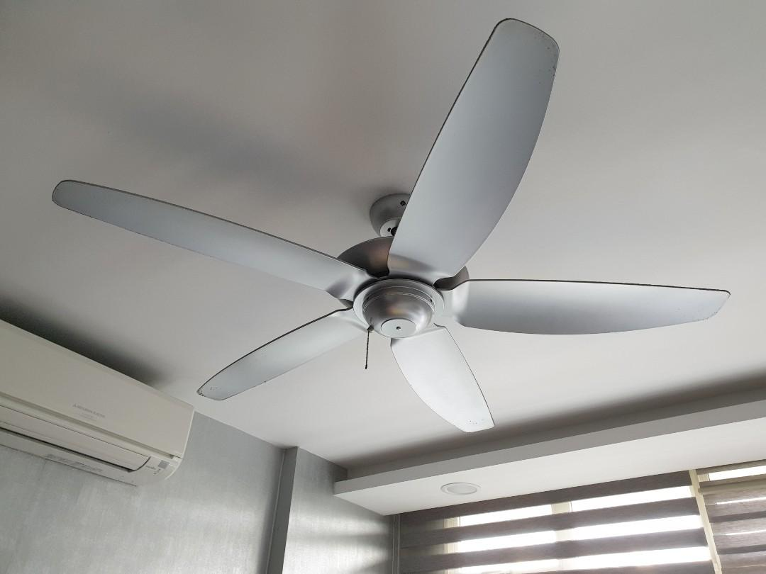 Samaire Ceiling Fan Sa565 Home Appliances Cooling Air Care On Carousell