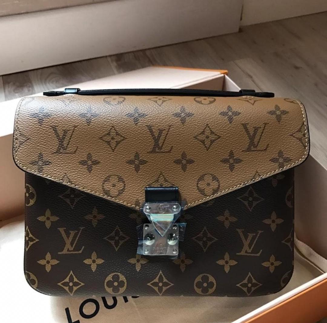 115687df122a Super Rare! BNIB Authentic Louis Vuitton (LV) Pochette Metis Reverse ...