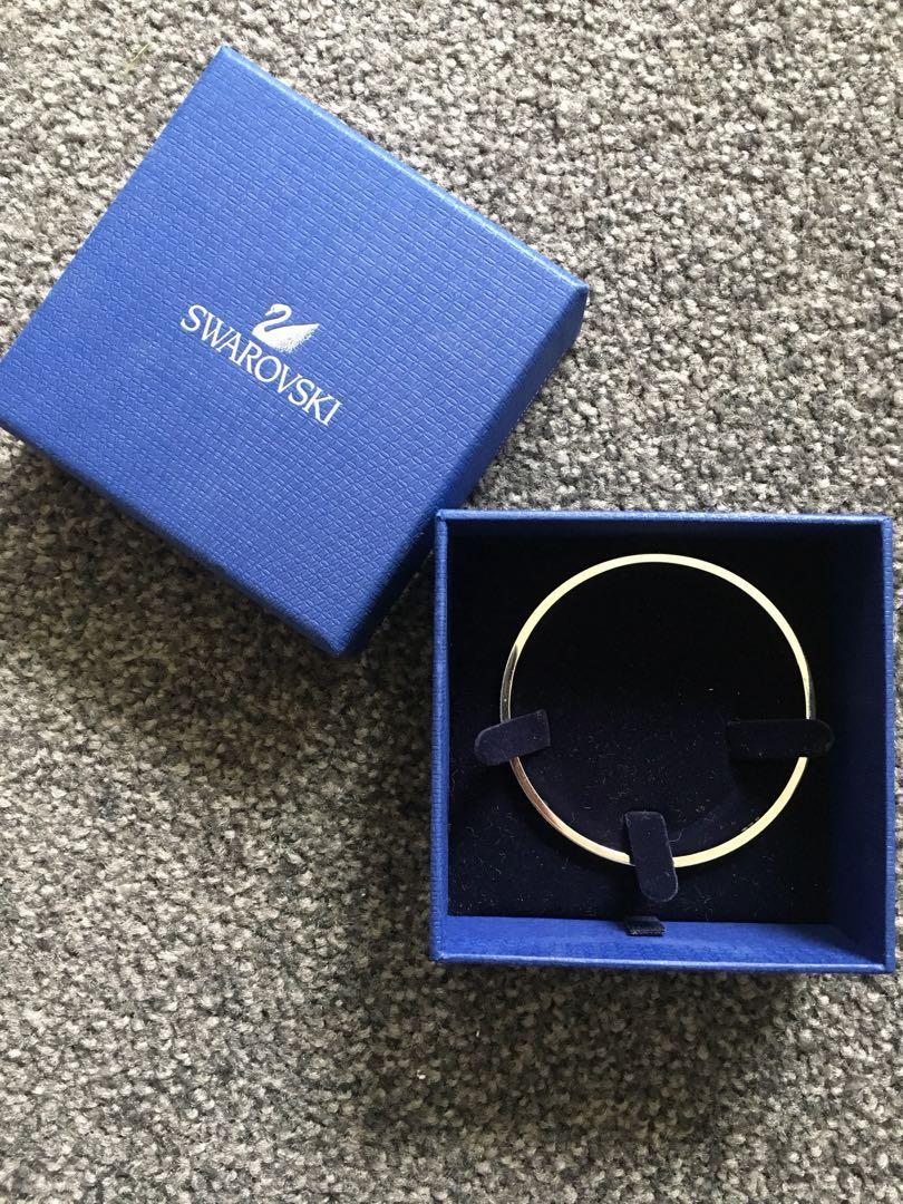 SWAROVSKI bangle bracelet -size S 6cm