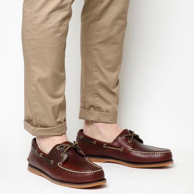 Timberland Classic 2 Eye Boat Shoe Rootbeer Brown, Men's Fashion, Footwear,  Others on Carousell