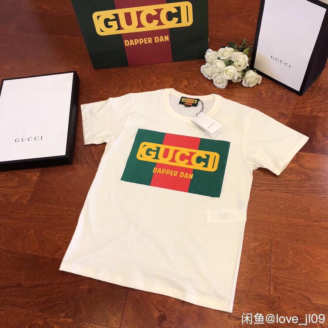 19b4dc45 Tshirt Gucci Dapper Dan AW18, Men's Fashion, Clothes, Tops on Carousell
