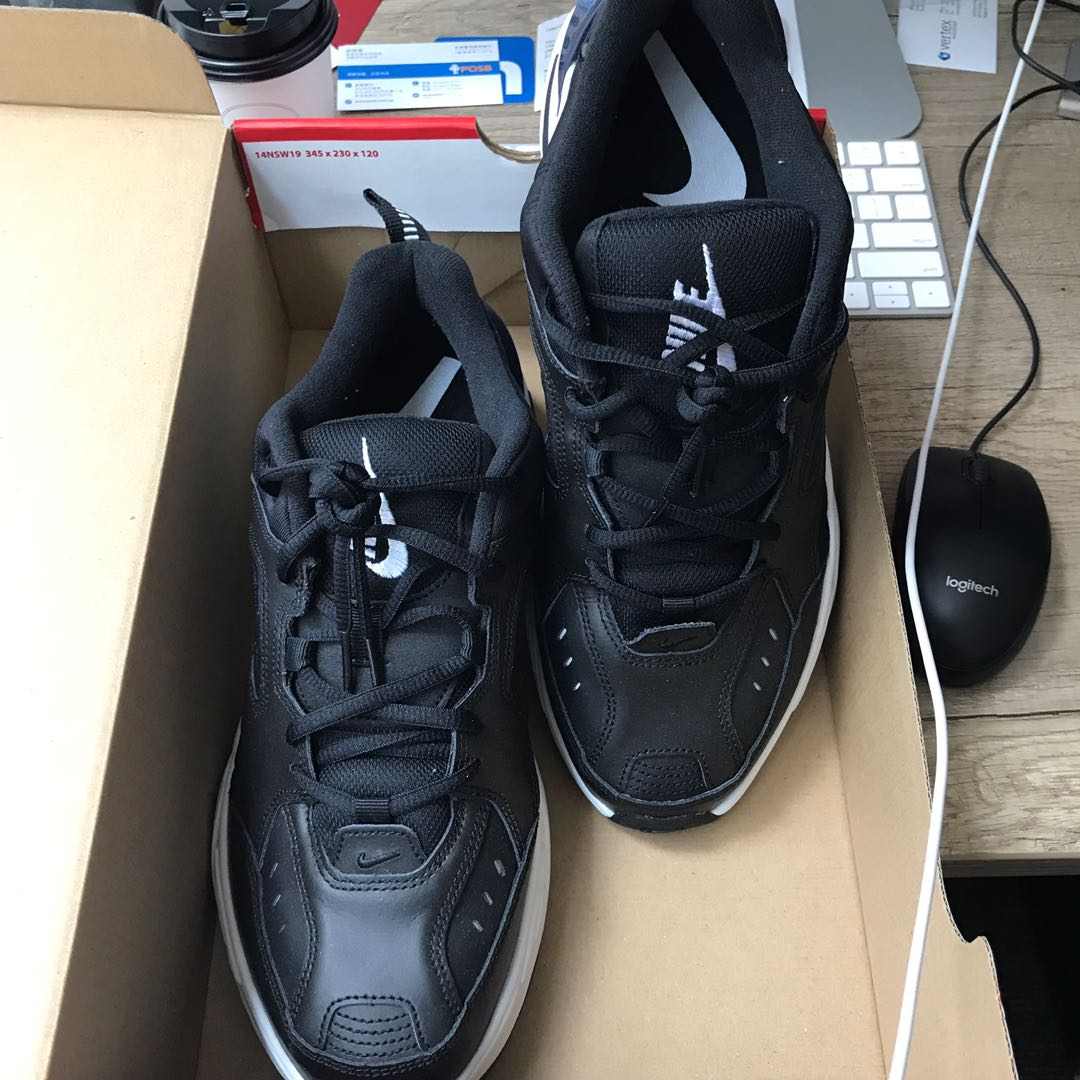quality design d9440 a245d US10 Nike m2k tekno black, Men s Fashion, Footwear, Sneakers on Carousell