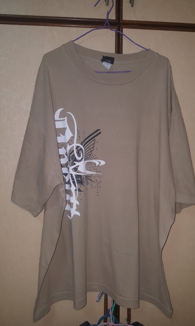 676d1933f2d5 USED PLUS SIZE MEN T SHIRT, Men's Fashion, Clothes, Tops on Carousell