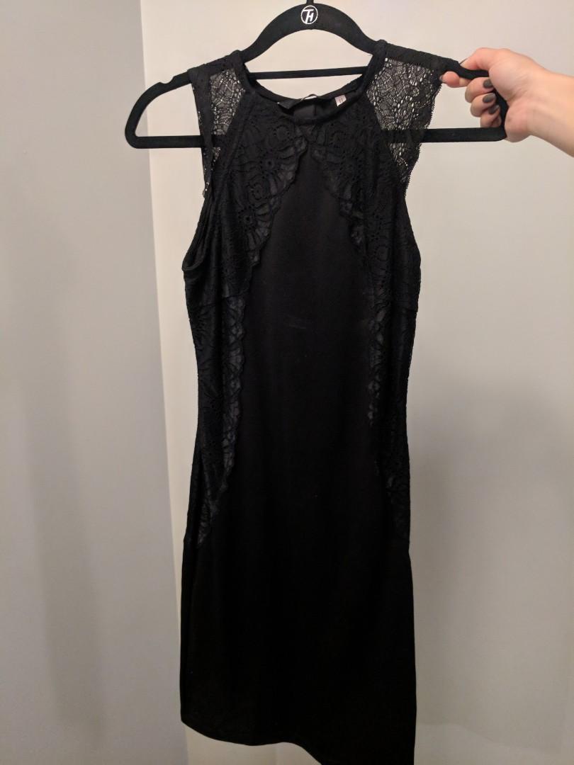 XS Classic Black Dress