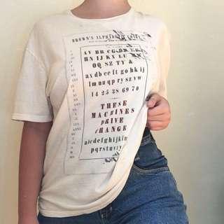 White Graphic Tshirt
