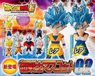 Dragon Ball Super Warriors Mascot 02 Vegetto, Goku, Rose, Trunks, Jiren