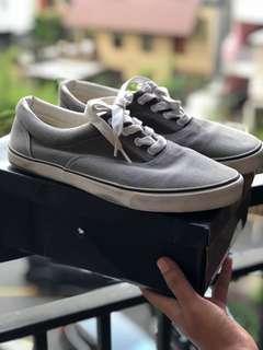 ASOS Canvas Shoes in Grey