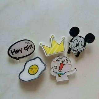 Badges RM1 each