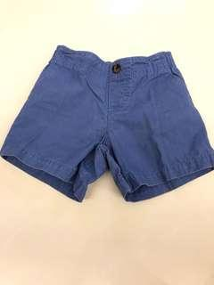 Carter's blue shorts