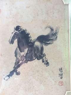 🚚 徐悲鴻(馬奔作品)
