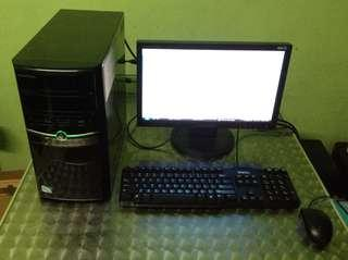 eMachines with LCD Monitor