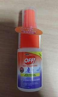 Repellent spray