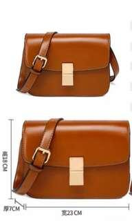 🚚 Brown handbag