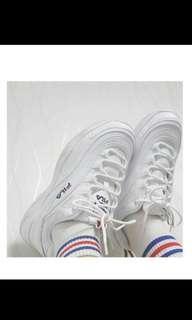 🚚 正品 全新 Fila 23號 白鞋