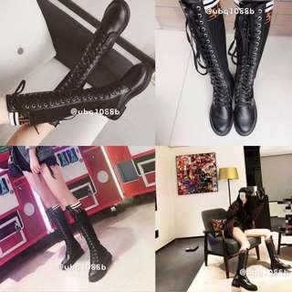 🚚 2018新款長靴。綁帶長靴。