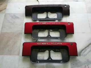 Toyota Celica GT4 Coupe 1990 Plate Holder