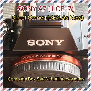 Sony A7 (98% AS NEW)