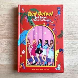 [SEALED + Bookmark] Red Velvet RV Red Room Official First Concert Photobook + First Pressed PET Bookmark