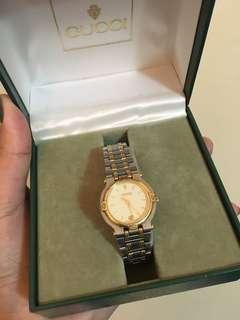 Gucci Two Tone Ladies Watch
