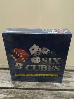 Brand New Six Cubes Board Game