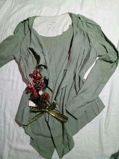 blazer army green