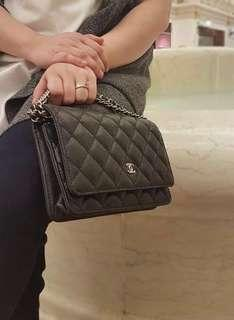 Chanel WOC in Caviar and Lambskin HQ only
