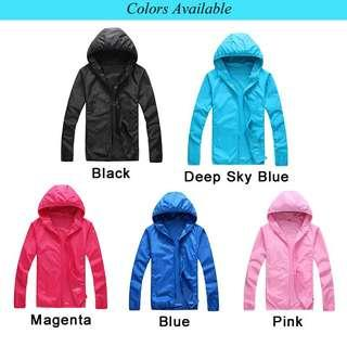 Unisex Windbreaker Waterproof Jacket