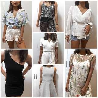 TOPSHOP, H&M, UNIQLO and more! (NEW ITEMS POSTED CLICK ON ICON)
